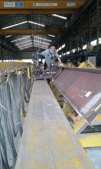 Submerged Arc Welding in Thailand