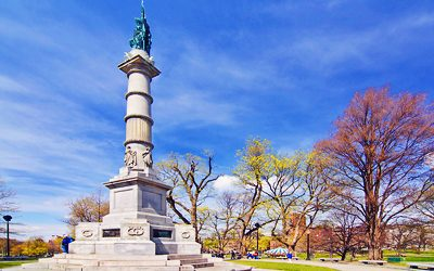 Boston Common Soldiers and Sailors Monument