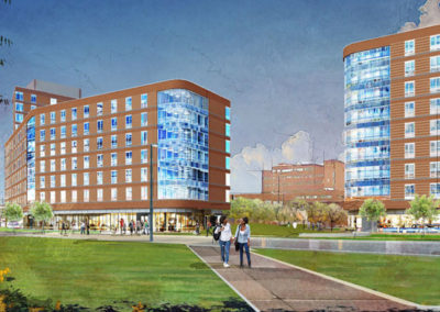 Residence Hall 1, UMass Boston