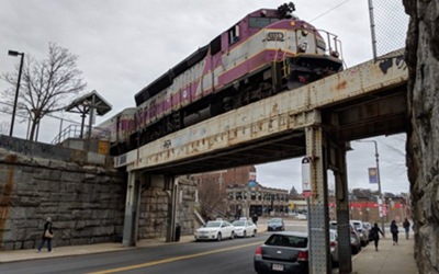 MBTA LaGrange St. Bridge