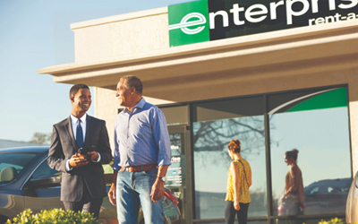 Enterprise Rent-a-Car, Palm Springs