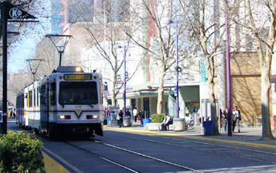 SacRT Downtown Shelters